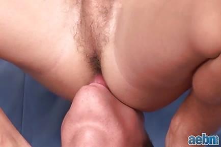 Licking ass hole