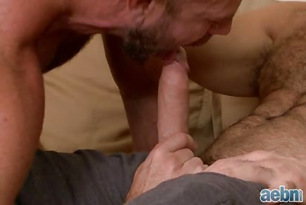 Divorced dads engage in hot hardcore gay sex