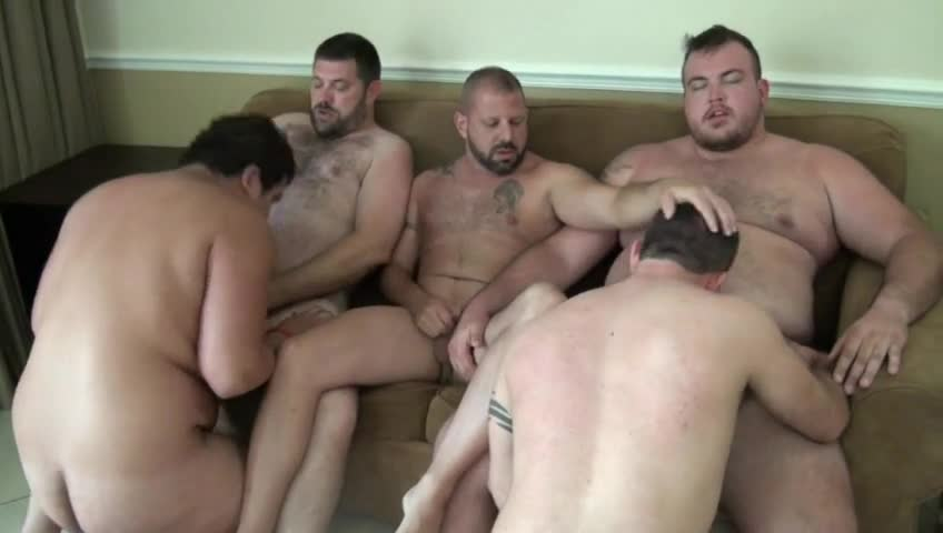 from Felix hairy gay orgy