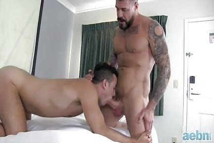 Monster dick Rocco Steele destroys ass