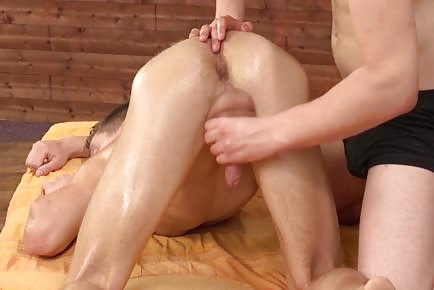 Sensual anal massage HD