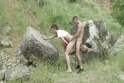Outdoor gay sex