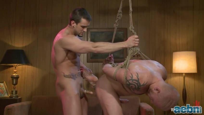 Phenix saint tied up in bondage and flogged