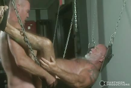 Hairy dad fucked
