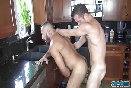 Stud daddy kitchen bang