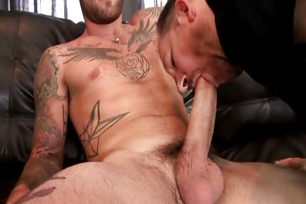 Mature eating cock and balls