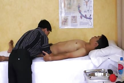 Asian Doctor Sexual Exam