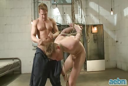 Bound Gods: A Pervert Electrician And His Bound Hung Stud