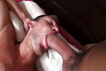 Big cock straight roommate